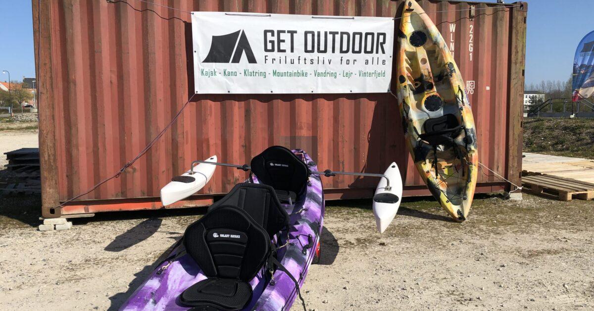Get Outdoor kajakudlejning